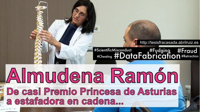 La científica Almudena Ramón y el fraude científico